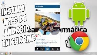 Download Instalar Apps de Android en un PC, Mac o Linux - Extensión Chrome Mp3 and Videos