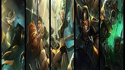 All Fnatic Skins (League of Legends)