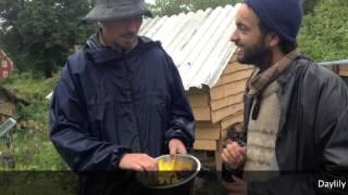 The Naraine show – Episode 7  - Wild salad edimentals!