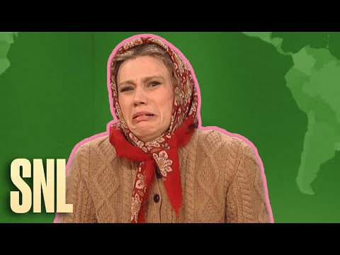 Weekend Update Rewind: Olya Povlatsky (Part 1 of 2) - SNL