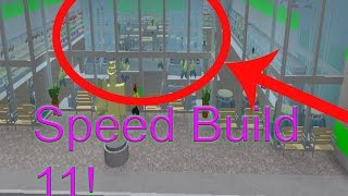Roblox: Retail Tycoon Speed Build 11 - 2 Stores in one!!!