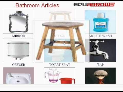 Bathroom Items Chart