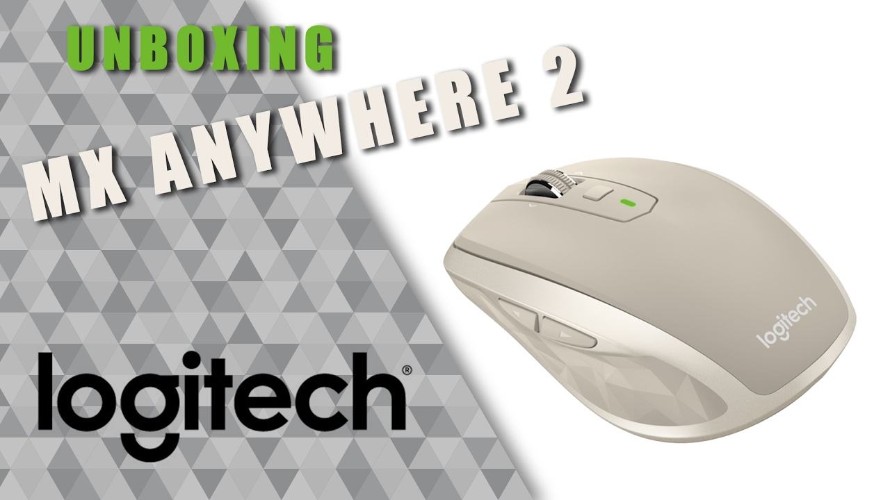 8abcfc23c05 Unboxing | Logitech MX Anywhere 2 / Stone (color) - YouTube