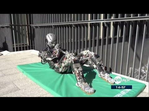 روبوت ياباني يحاكي حركات البشر ويتعرق مثلهم  - نشر قبل 4 ساعة