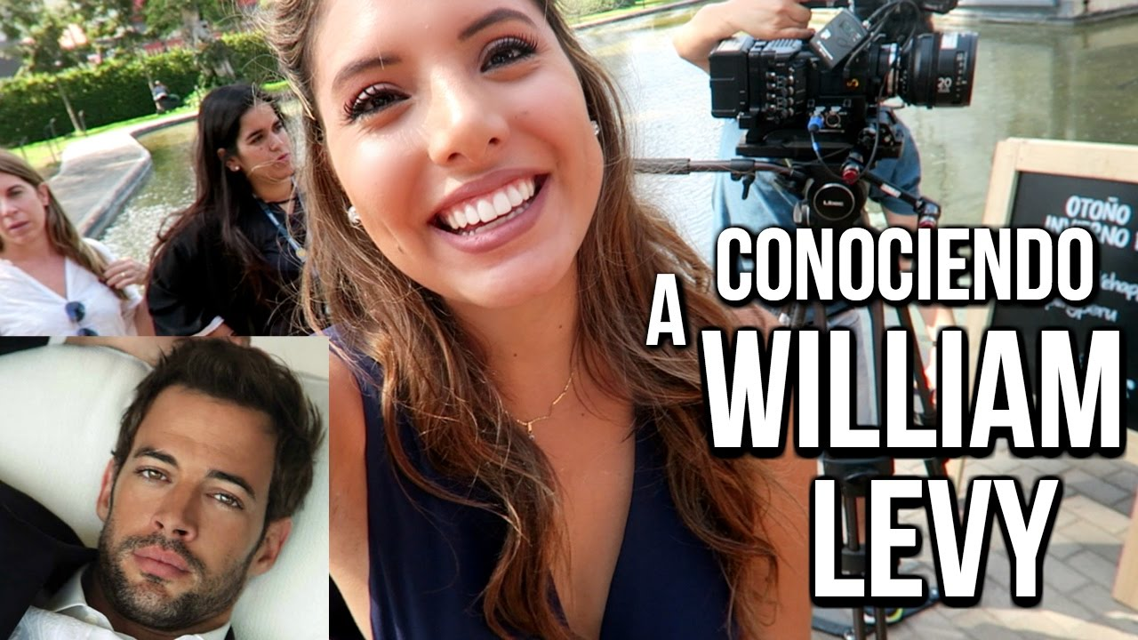 CONOCIENDO A WILLIAM LEVY! 😱😍 | VALERIA BASURCO | ValeriaVlogs