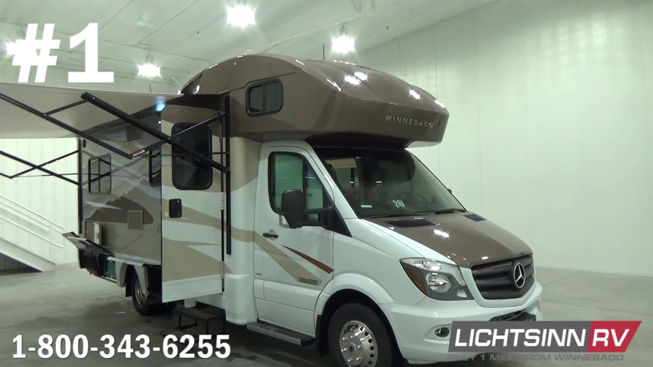 Jayco Melbourne vs Winnebago View & Itasca Navion | Mercedes-Benz Sprinter RVs