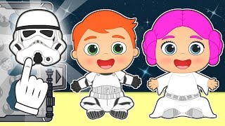 BABY ALEX AND LILY Dress up Space Princess and Empire Soldier 💥 Gameplay Videos for Kids
