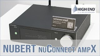 Nubert nuConnect ampX & Nubert nuPro XS-7500