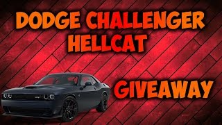 ROBLOX - Drive HELLCAT GIVEAWAY (CLOSED)