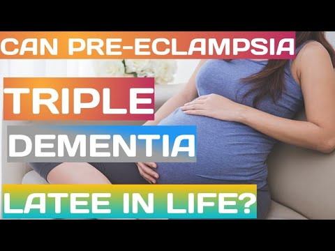 Pre-eclampsia Tied To Tripling Of Dementia Later