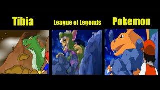 Digimon x Tibia x League of Legends x Pokemon (OPENING)