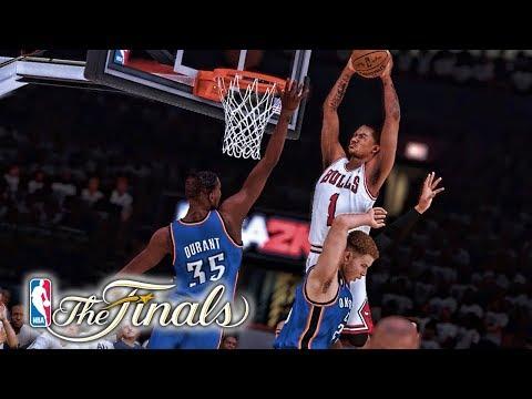 Double Poster! NBA 2K19 Derrick Rose My Career Ep. 45