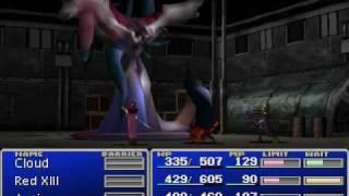 Let's Play Final Fantasy VII Part #36 Cargo Ship