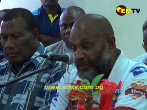 East New Britain's Five Members Elect Come Together