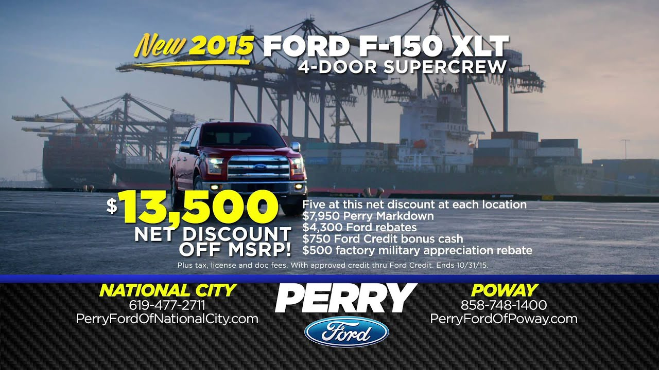 Perry Ford Our Very Best October Deals