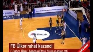 Anadolu Efes Fenerbahçe Ülker: 64-73 Basketbol Maç Özeti