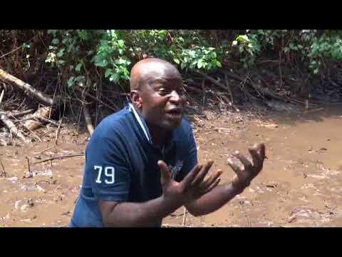 PÊCHE ARTISANALE AU VILLAGE ONDEMBE (OYO) CONGO BRAZZAVILLE