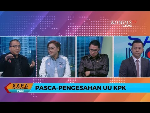 DIALOG - Revisi UU KPK Disahkan, Denny Indrayana: Kalau Menguatkan Itu Menambah, Bukan Membatasi