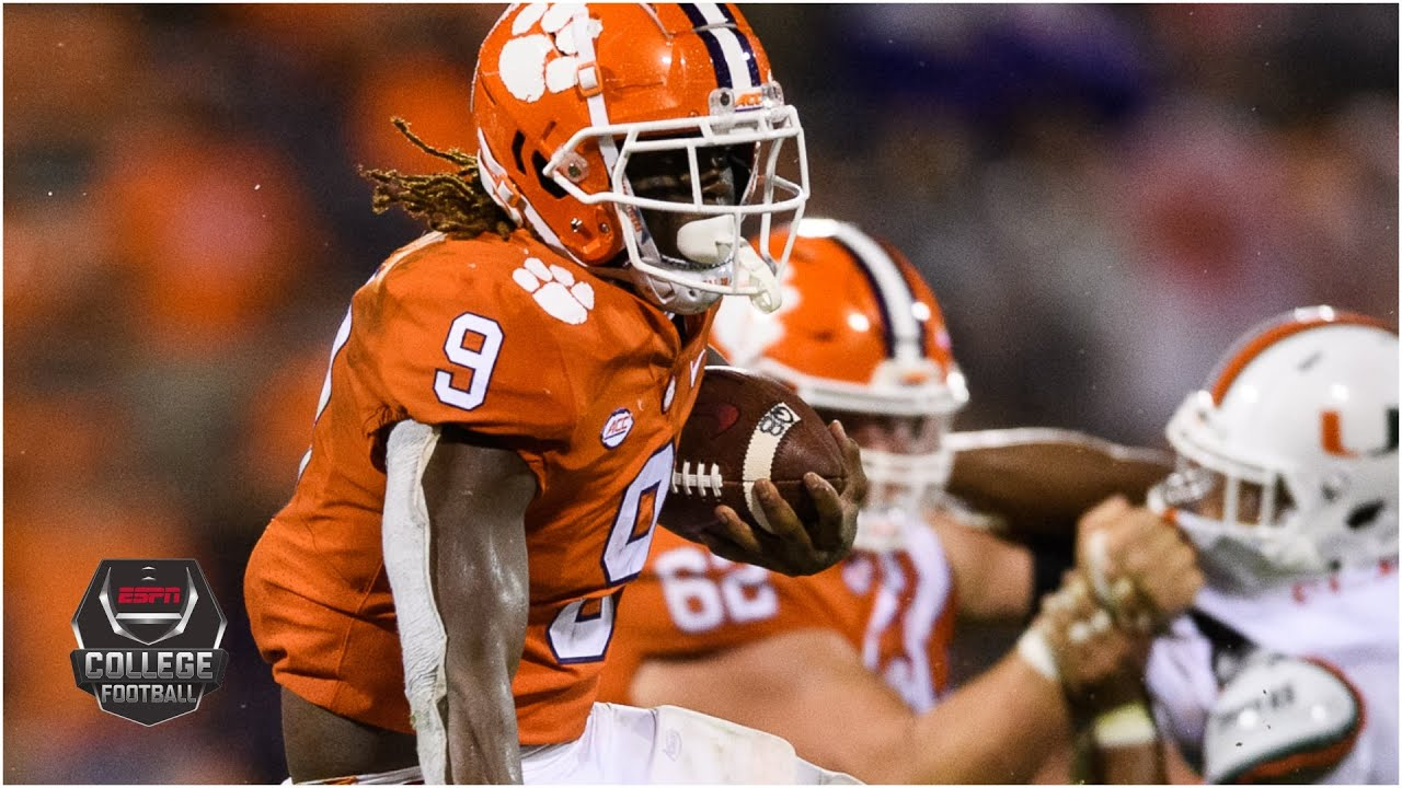 Miami Hurricanes Vs Clemson Tigers 2020 College Football Highlights Youtube