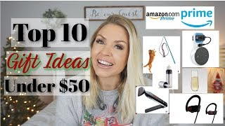 Christmas Gift Ideas Under $50| Amazon Prime Gifts For Anyone In Your Life| Megan Navarro