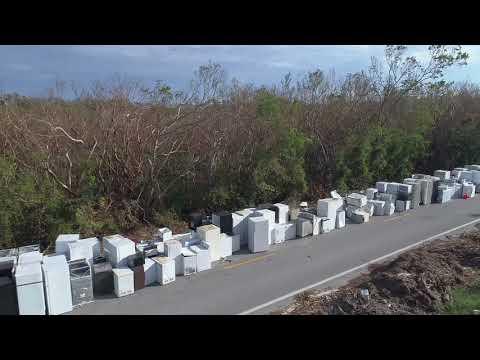 Hurricane Irma creates huge appliance graveyard