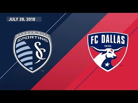 HIGHLIGHTS: FC Dallas 3, Sporting KC 2 | 7.28.18
