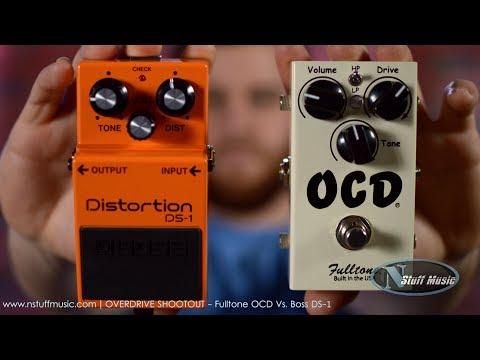 OVERDRIVE SHOOTOUT - Fulltone OCD Vs. Boss DS-1