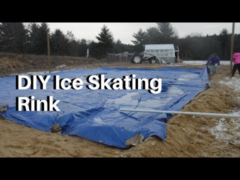 How to  Build a Big Backyard Ice Skating Rink | HomeSteadHow.com