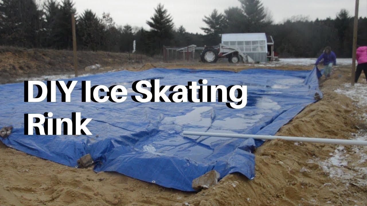 How To Build A Big Backyard Ice Skating Rink Homesteadhow Com
