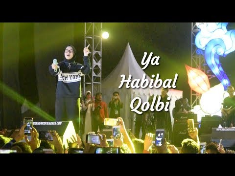 Bikin Adem! Ya Habibal Qolbi - Nissa Sabyan Gambus   Live PRPP Semarang