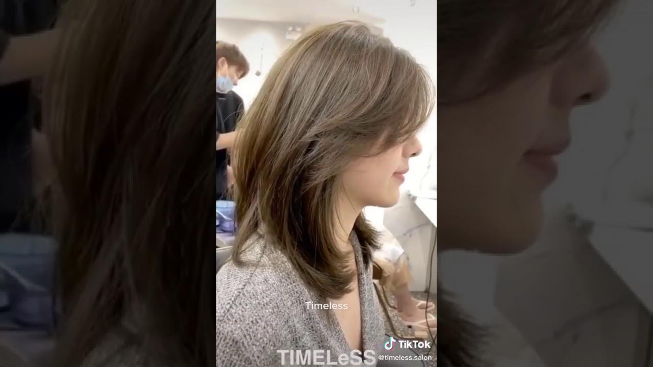 Kiểu tóc leyer đẹp nhất năm 2020  Dành cho tóc ngang vai | Tổng quát những tài liệu về kiểu tóc layer nữ ngang vai chuẩn nhất