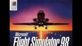 Lets Play Microsoft Flight simulator 98