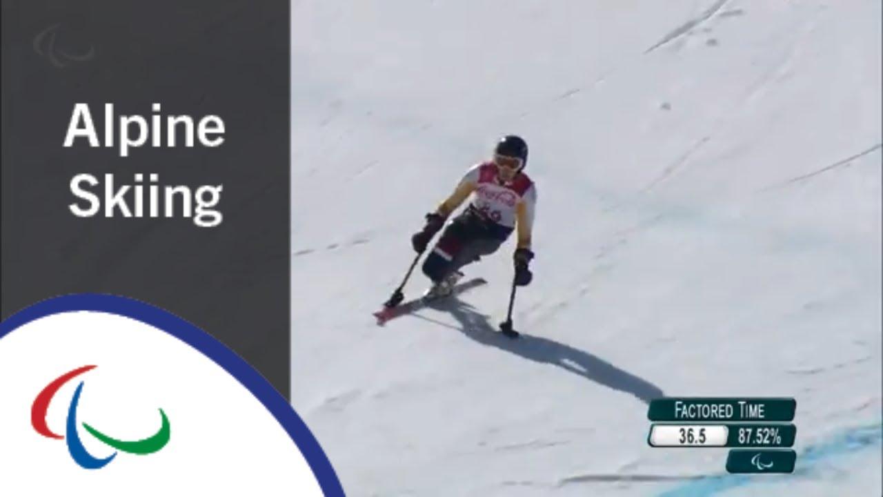 Jeroen KAMPSCHREUR |Super Combined| Super G| Alpine Skiing | PyeongChang2018 Paralympic Winter Games