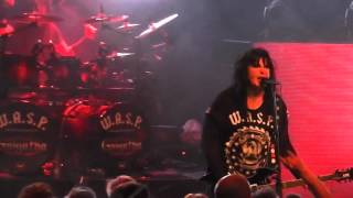 W.A.S.P - Golgotha (New Song) - Live - Luleå 2015