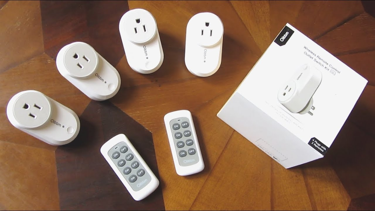 Oittm Remote Outlets | Unboxing Review and Demo