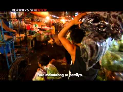'Pulot boys' gather left-over food for a living | Reporter's Notebook
