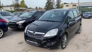 Opel Zafira 1.8 бензин 2008 год всего за 3950€. Из Германии