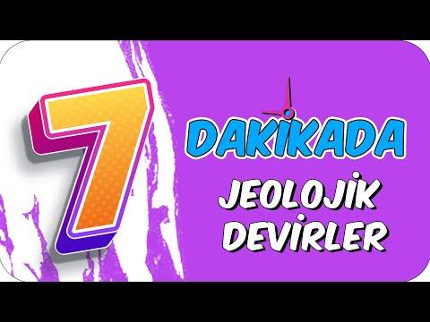 7dk'da JEOLOJIK DEVİRLER