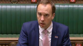 In full: Matt Hancock addresses the Commons as UK deaths reach highest level since June 5