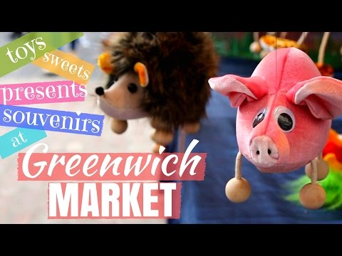 Greenwich Market - toys, sweets, birthday presents, souvenirs, crafts, arts