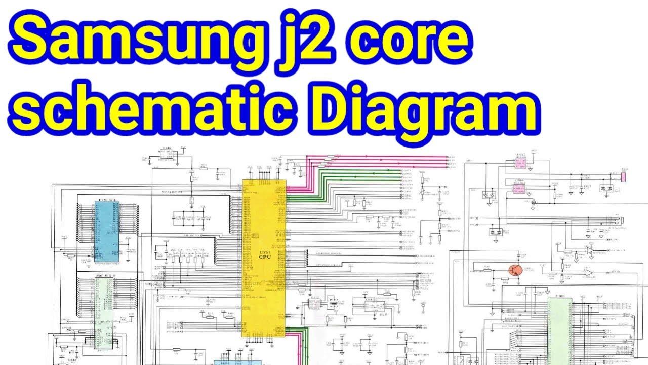 Samsung j2 Schematic Diagram Free Downlod/ samsung mobile j2 core schematics  diagram #rppgrouptec# - YouTubeYouTube