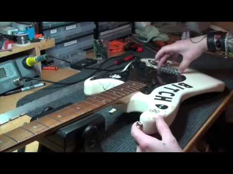 Clean & Oil a Fretboard - Part 2