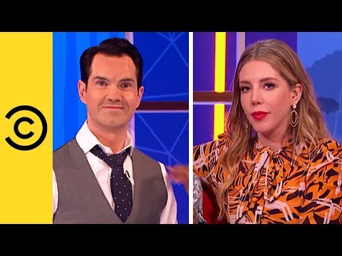 Jimmy Carr and Katherine Ryan Flirt With The Contestants  Your Face Or Mine