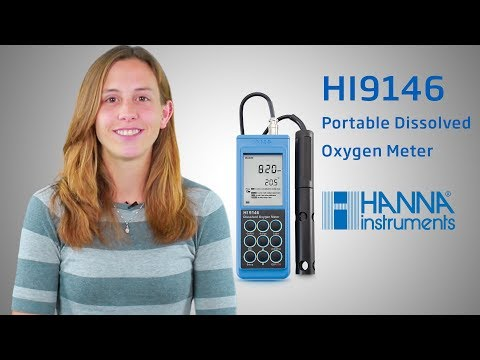 How to: Set up and use the HI9146 Portable Dissolved Oxygen Meter