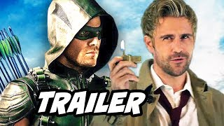 Arrow Season 4 Episode 5 Constantine Trailer Breakdown