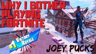 WHY I BOTHER PLAYING FORTNITE (Fortnite Battle Royale Gameplay)