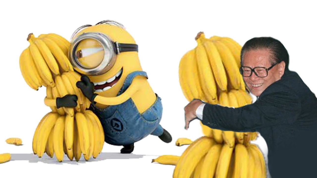 what does despicable me and former chinese leader jiang