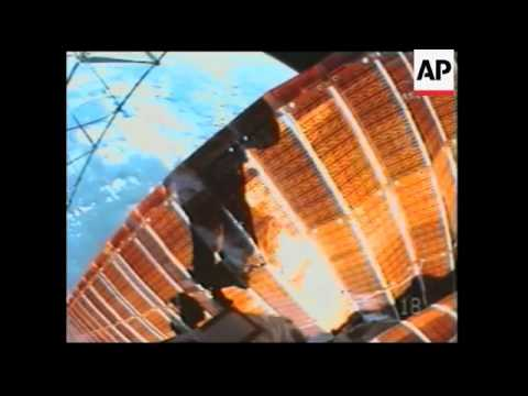 NEW Astronauts performed emergency repairs on space station solar energy panel