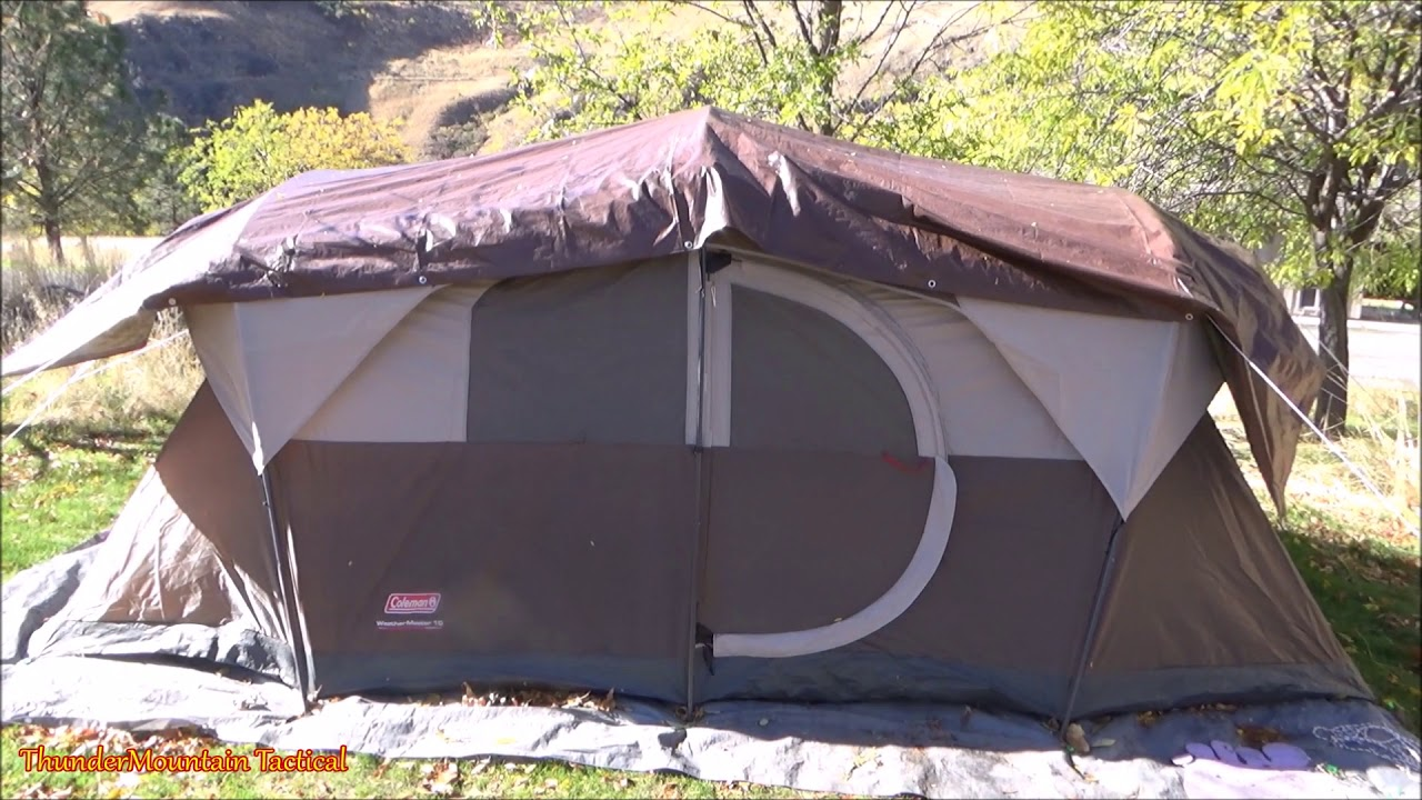 brand new de145 f8dca Coleman WeatherMaster 10 Person Tent - its Awesome!