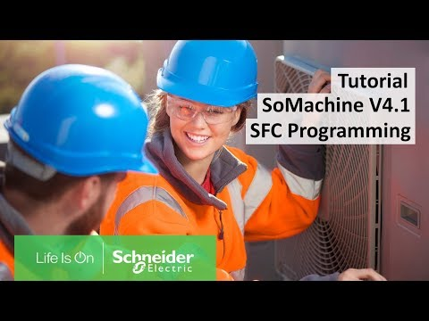 How To Program With The SFC Implementation Language In SoMachine V4.1.? | Schneider Electric